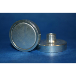 SmCo / NdFeB flat pot magnets