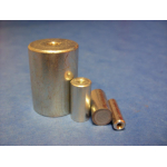 AlNiCo deep pot magnet with internal thread