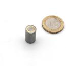 Stabgreifer AlNiCo mit Passungstoleranz h6 / d10x16 mm