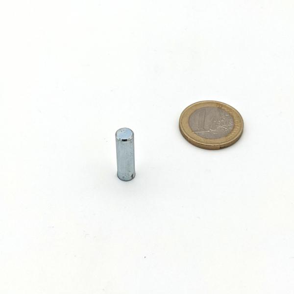 Stabgreifer AlNiCo ohne Passungstoleranz / d6x20 mm