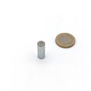 Stabgreifer AlNiCo ohne Passungstoleranz / d8x20 mm