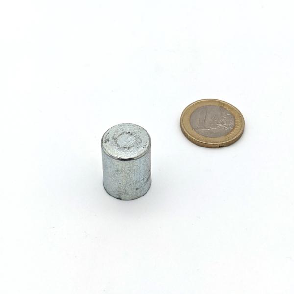 Stabgreifer AlNiCo ohne Passungstoleranz / d16x20 mm