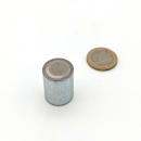 Stabgreifer AlNiCo ohne Passungstoleranz / d20x25 mm