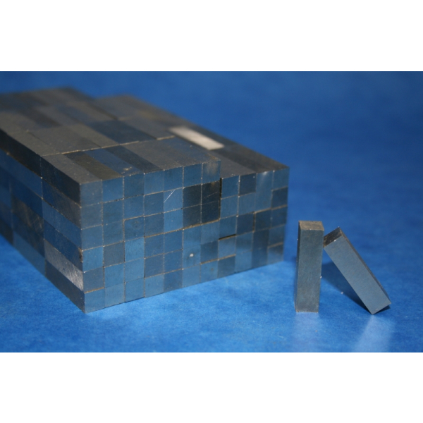 Magnet Block AlNiCo 37/5 6,3x6,3x25,4 mm