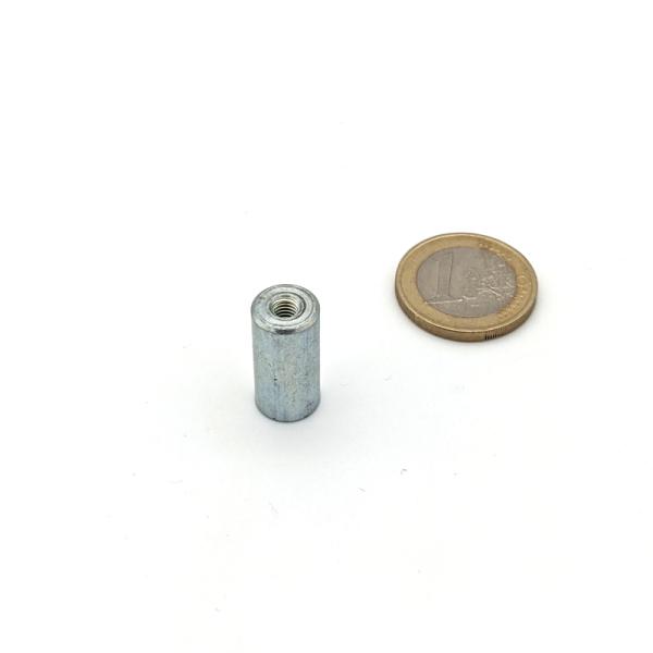 Stabgreifer AlNiCo mit Innengewinde M4 d10x20 mm
