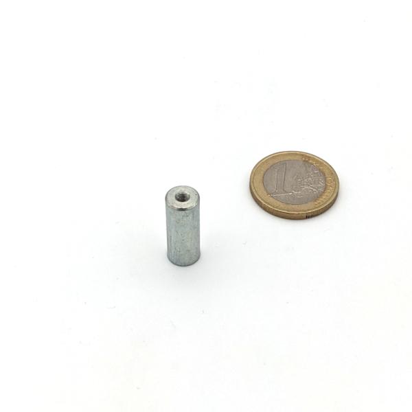 Stabgreifer AlNiCo mit Innengewinde M3 d8x20 mm