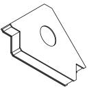 Permanent-Mehrfach-Winkelmagnet L190xB25xH123 mm