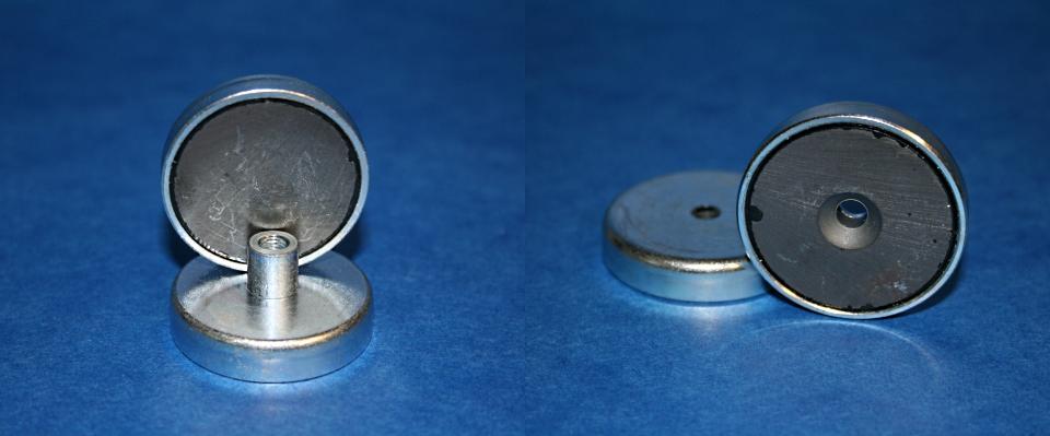 Magnetflachgreifer Hartferrit