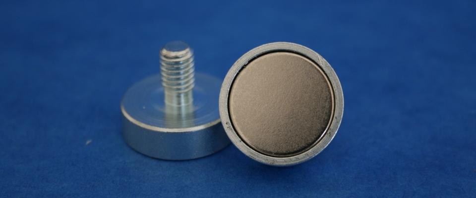 Flachgreifer Magnete SmCo / NdFeB